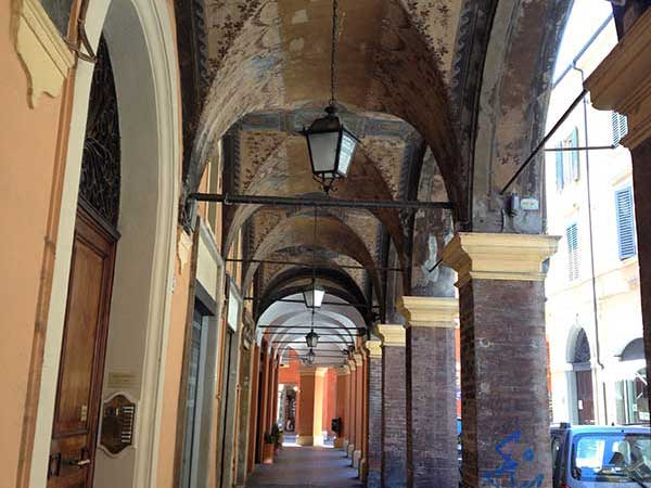 covered market in Modena