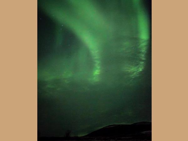 Chasing the magical Aurora Borealis, Skaidi, Finnmark, Norway. Photo by Danielle Conyers